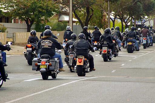 Gypsy Joker Protest Run SA Anti-Association Laws